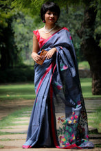 Load image into Gallery viewer, West Bengal MATKA SILK HANDLOOM SAREE