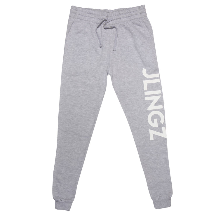 JLINGZ Mens Dancefloor Slim Fit Joggers | Grey