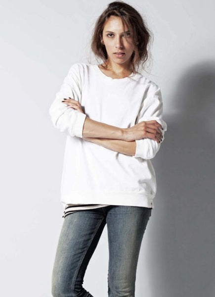 #88 Sweatshirt Tee, Heather Wash