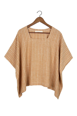 Square Tee, Rust Stripe (Sunchild Exclusive)