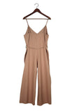 Cypress Playsuit, Sand Silk Noil