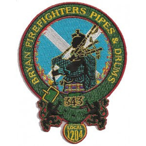 Bryan, TX Pipes & Drums Patch
