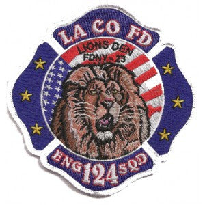 LA County Station 124 Patch