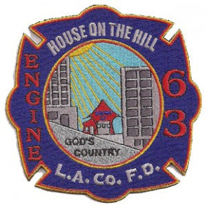 LA County Station 63 Patch