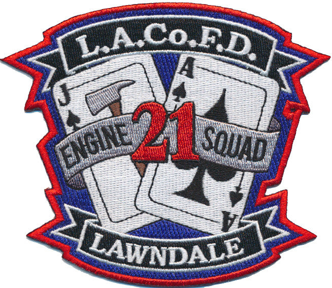 LA County Station 21  LAWNDALE NEW Patch
