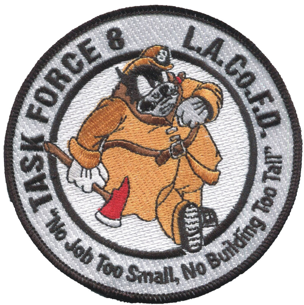 LA COUNTY FIRE DEPT TASK FORCE 8  Patch