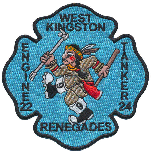 WEST KINGSTON, RI ENGINE 22 TANKER 24 RENEGADES FIRE PATCH