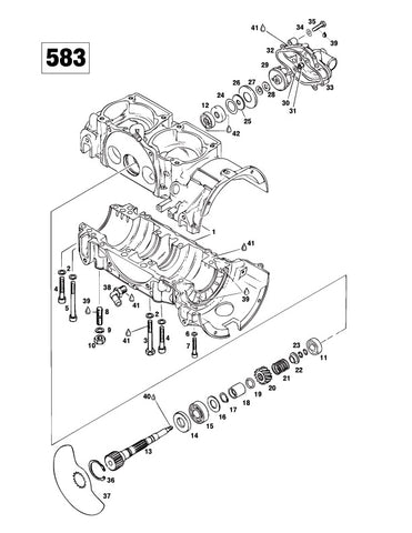 Full Parts Catalog for Ski-Doo Snowmobile All 1996Instant