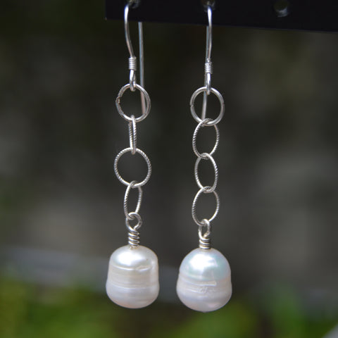 Dangly Sterling silver earrings classic