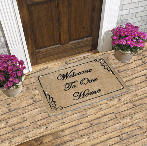 Classic Welcome - Magic LED COIR Door Mat