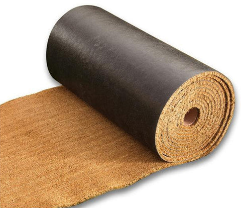"COCO COIR FULL ROLLS - 5/8"" THICK VINYL BACKED ROLLS"