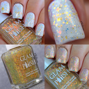 My, What A Guy That Gaston! (23 Karat Gold Leaf) Glam Polish Fans Group Exclusive