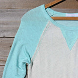 Cozy Camp Tee in Mint: Alternate View #2