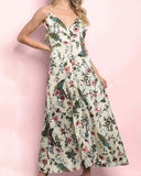 Fern & Poppy Maxi Dress: Alternate View #1