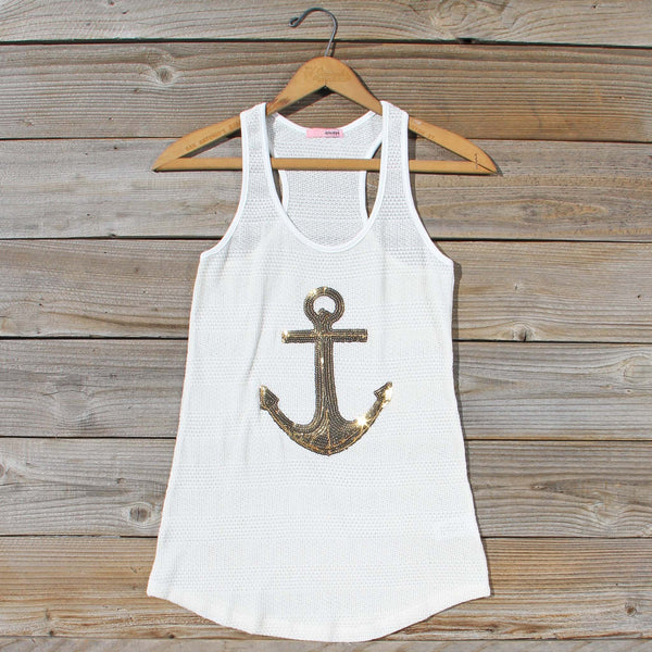 Sequin Sailor Tank: Featured Product Image