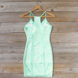 Beloved Lace Dress in Mint: Alternate View #4