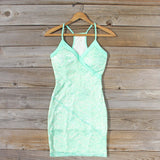 Beloved Lace Dress in Mint: Alternate View #1
