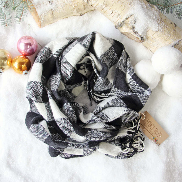 Buffalo Snow Scarf: Featured Product Image