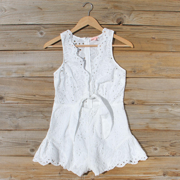 Blanca Sol Romper: Featured Product Image