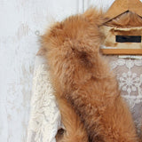 Chumstick Faux Fur Vest in Honey: Alternate View #2