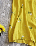 Daisy Wrap Skirt: Alternate View #3