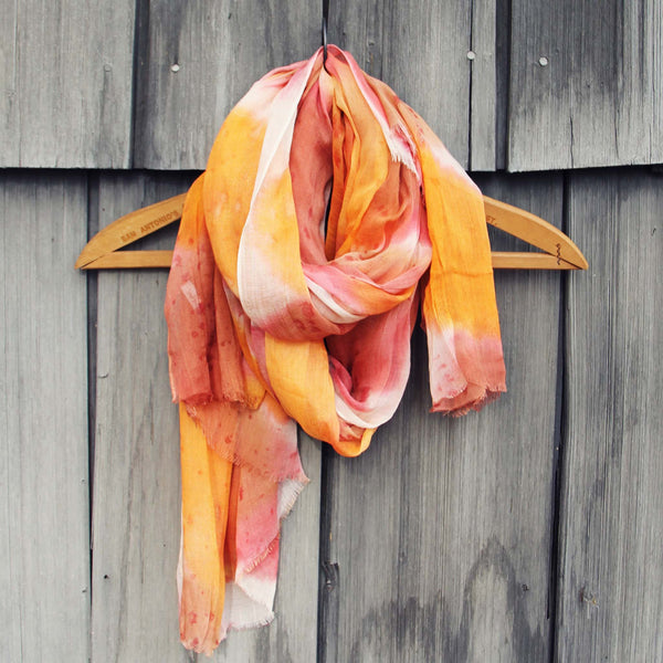 Dream Lake Scarf in Sunset: Featured Product Image