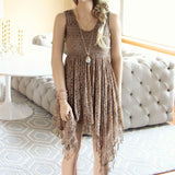 Dreamscape Dress in Taupe: Alternate View #2
