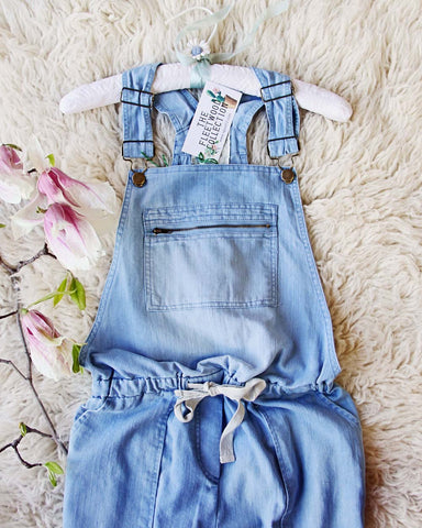 Heirloom Overalls in Chambray