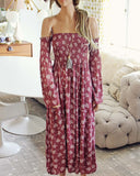 Sophie Maxi Dress in Pink: Alternate View #1