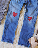 Vintage Heart Levi's: Alternate View #3