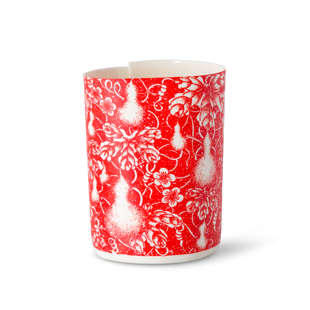 Illuminator Vase Short Red Pear