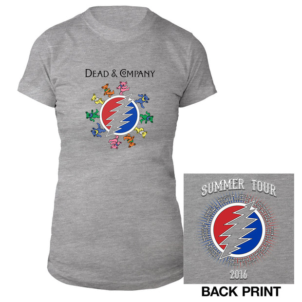 Dancing Bears Ladies Tee-Dead & Company