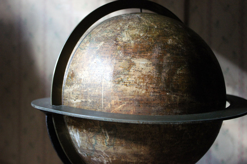 A 19thC French Table Globe Prepared by Maison Dèlamarche Paris 1870