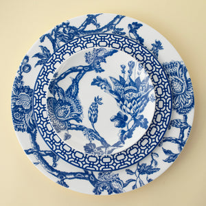 Arcadia Blue Appetizer Plate with Newport Salad Plate and Arcadia Blue Dinner Plate