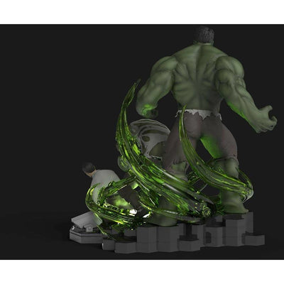 The Incredible HULK Transformation 1/5 Scale Statue by Tiger J Customs