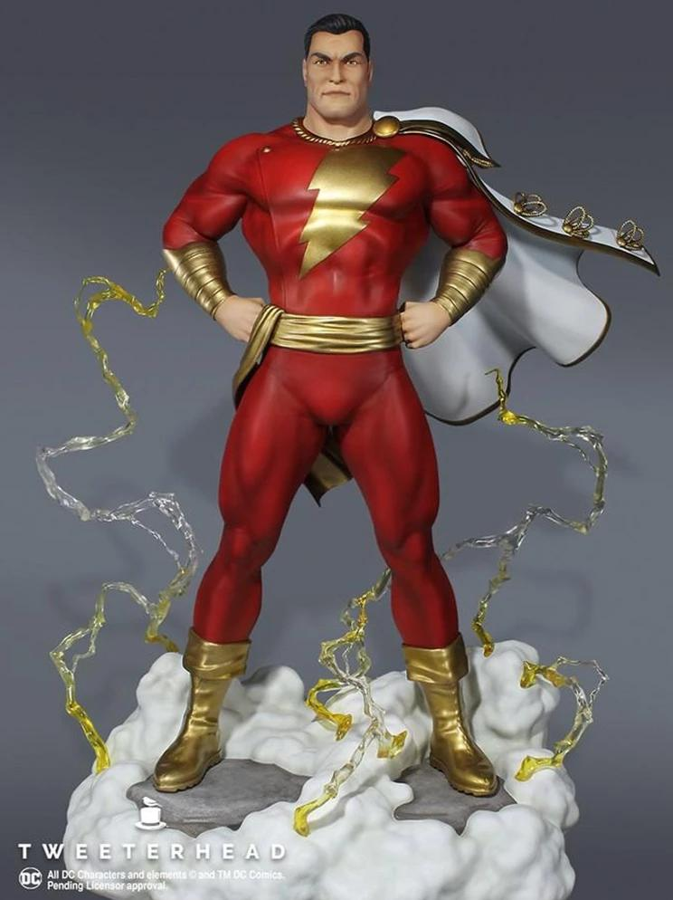 Super Powers Series: Shazam 1/6 Scale Maquette