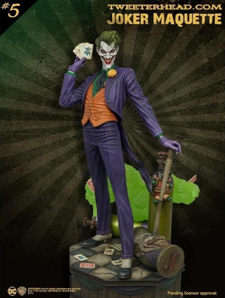 Joker Super Powers Maquette Statue by Tweeterhead