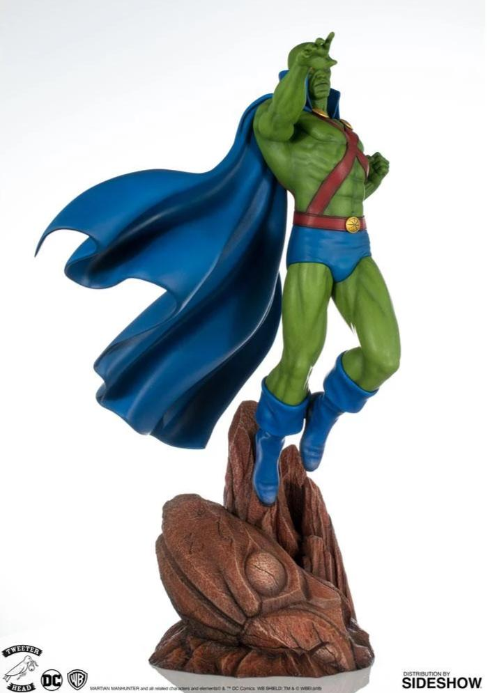 DC Super Powers Series: Martian Manhunter 1:6 Scale Maquette