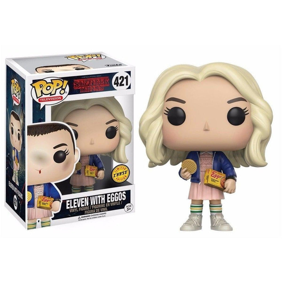 FUNKO Pop! Stranger Things Eleven 11 With Eggos CHASE Limited Edition