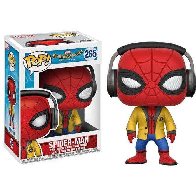 Spider-Man Homecoming W/ Headphones Funko Pop! Movies Vinyl Figure #265