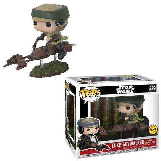 Pop! Deluxe: LUKE on Speeder Bike CHASE VARIANT by FUNKO
