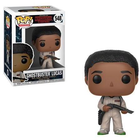 Stranger Things Ghostbusters LUCAS Funko Pop! Television #548