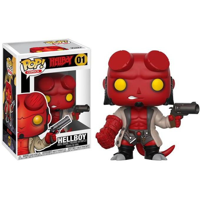 Hellboy Comic Hellboy with Jacket Funko Pop!