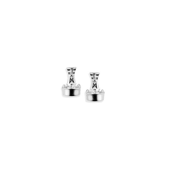 Channel Marker Stud Earrings