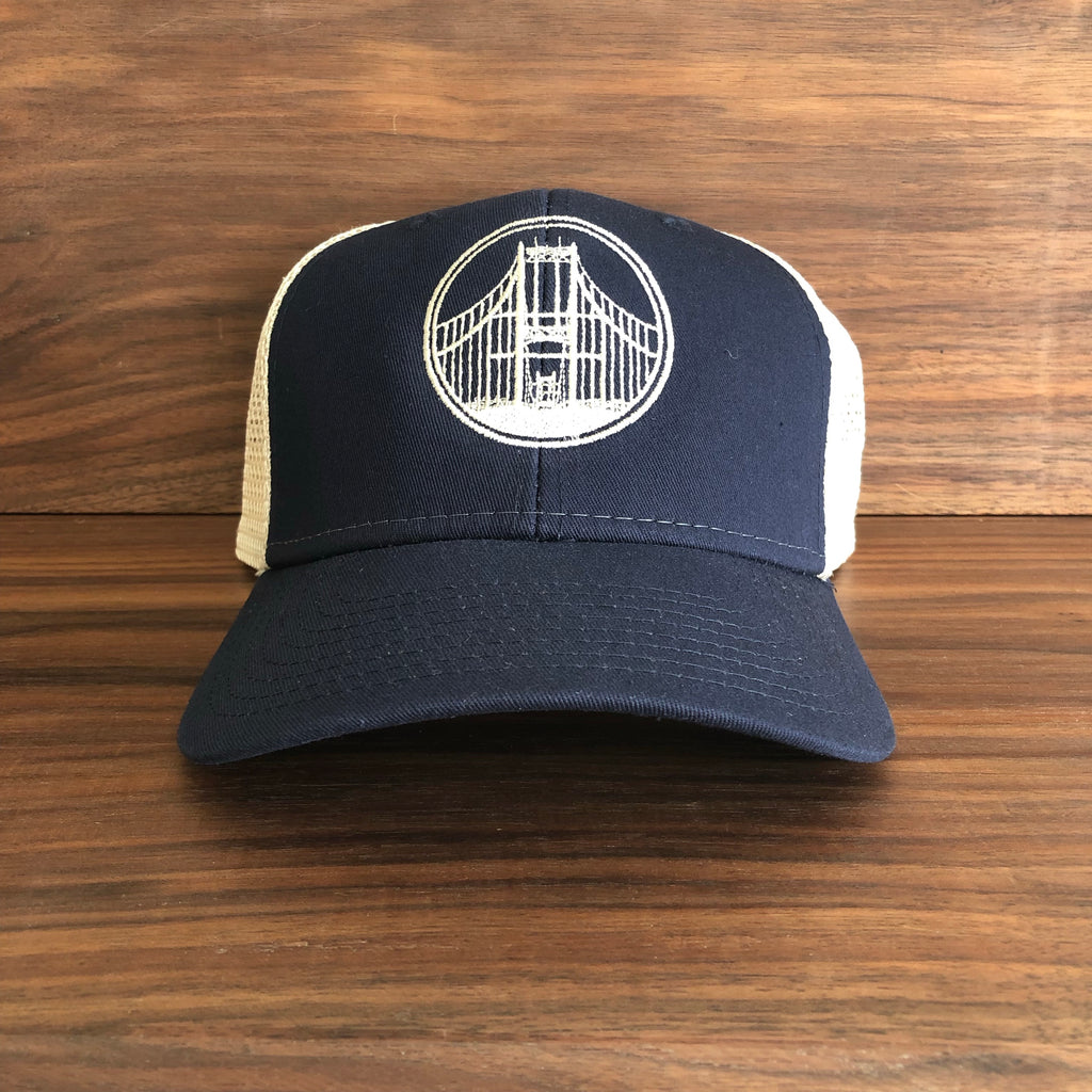 T. I. Bridge Mesh Back Trucker Hat