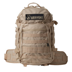 12 Survivors Tactical Backpack Tan