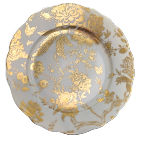 Jardin Secret Accent Plate Grey Gold