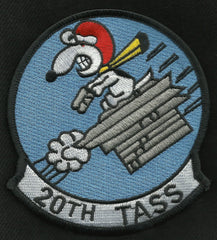 USAF 20th Tactical Air Support Squadron 20th TASS Military Patch - Snoopy