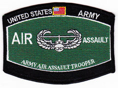 ARMY Air Assault Trooper Military Occupational Specialty MOS Military Patch