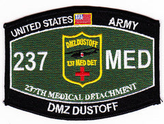 ARMY 237th Medical Detachment Military Occupational Specialty Rating MOS Military Patch DMZ DUSTOFF